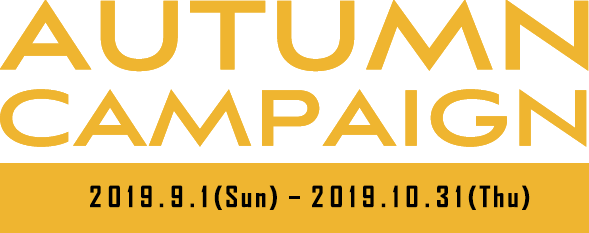 SPRING CAMPAIGN 2019.3.2(Sat) - 2019.3.31(Sun)