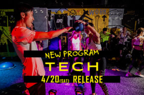 NEW PROGRAM「TECH」リリース決定